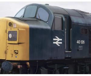 Class 40 No. 40126 Portrait