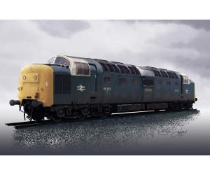Class 55 Deltic Portrait D9012 Crepello