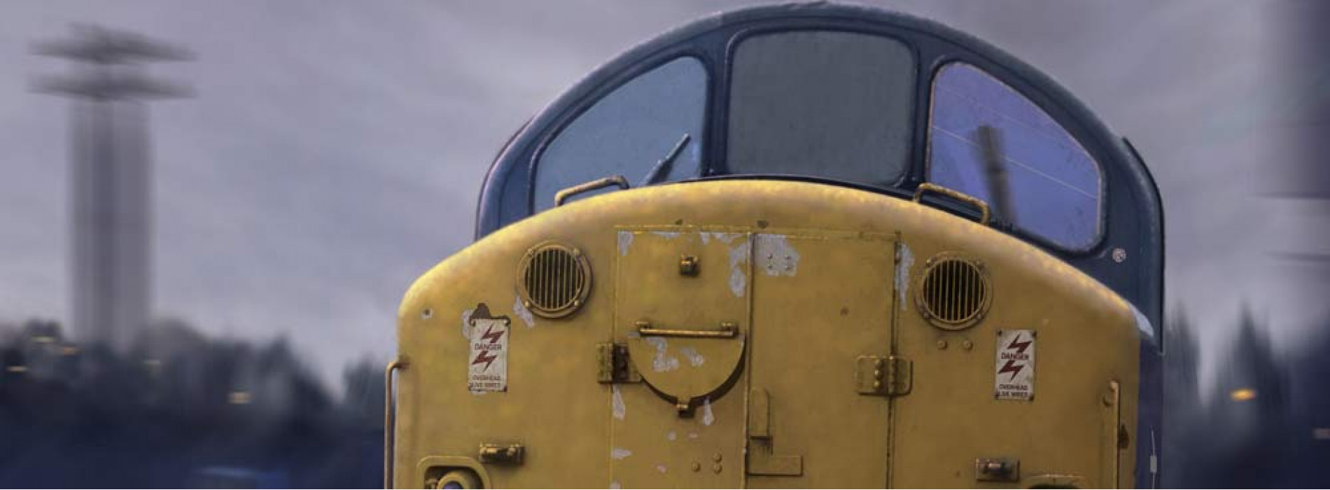 Class 40 driving cab